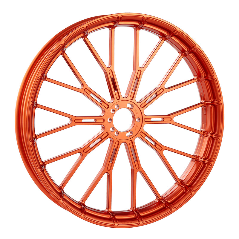 Y-Spoke Forged Wheels, Orange