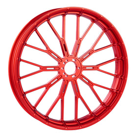 Y-Spoke Forged Wheels, Red