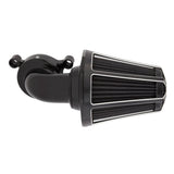Beveled Monster Sucker Air Cleaner, Black