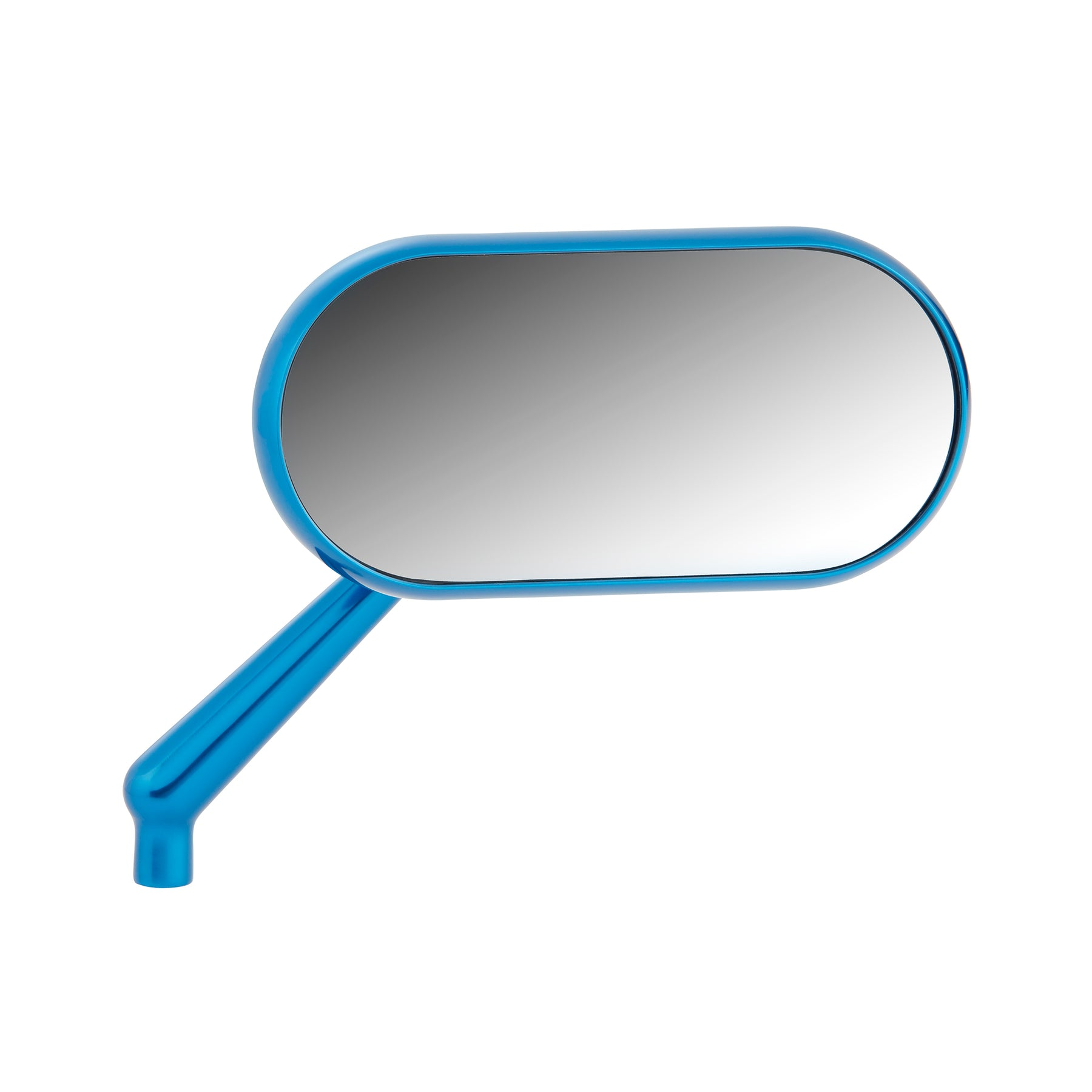 Forged Oval Mirrors, Blue