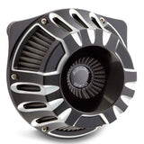 Deep Cut Inverted Series Air Cleaner, Black