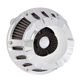Deep Cut Inverted Series Air Cleaner, Chrome
