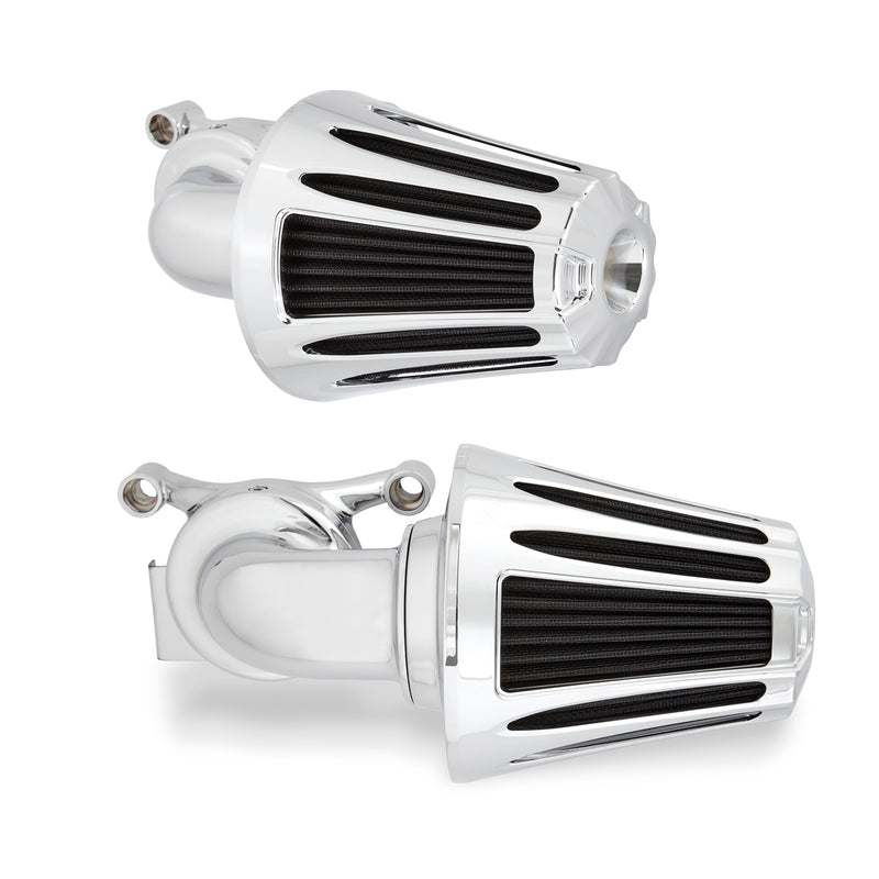 Deep Cut Monster Sucker Air Cleaner, Chrome