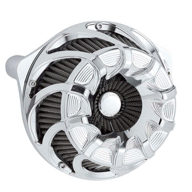 Drift Inverted Series Air Cleaner, Chrome