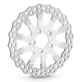 Drift Rear Brake Rotors, Chrome