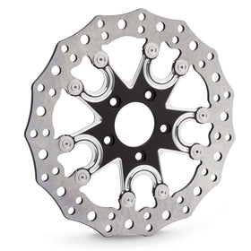 Flare 5 Rear Brake Rotors, Black