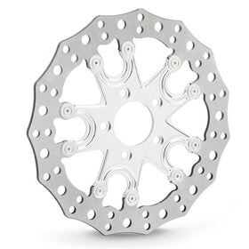 Flare 5 Brake Rotors, Chrome