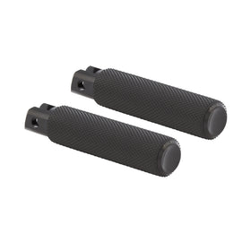 Knurled Footpegs, Black
