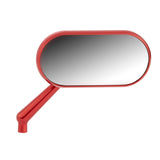 Forged Oval Mirrors, Red