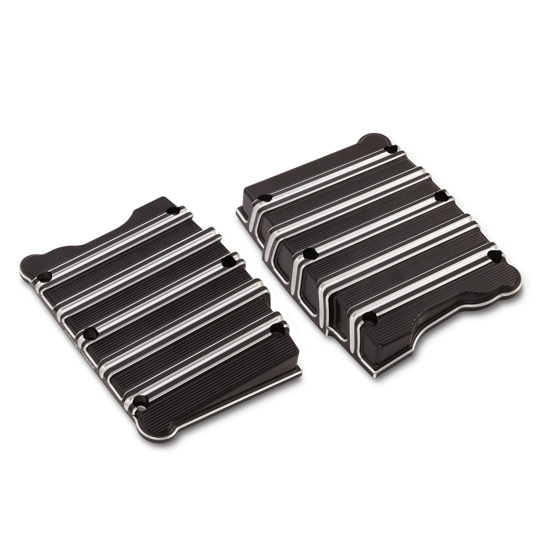 10-Gauge Twin Cam Rocker Box Covers, Black