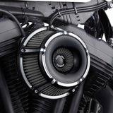 Slot Track Inverted Series Air Cleaner, Black