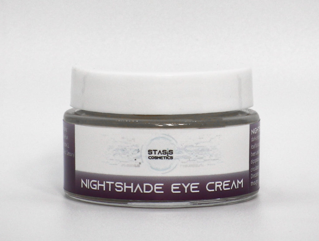 Nightshade+ (100 mg CBD) - Eye Inflammation and Dark Circle Smoothing Cream