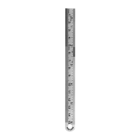 "Stainless Steel Ruler (6"")"