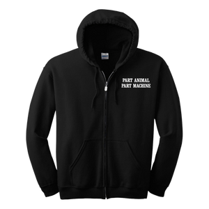 Search & Destroy Black Zip Hoodie