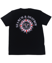 Load image into Gallery viewer, Search & Destroy Black T-shirt