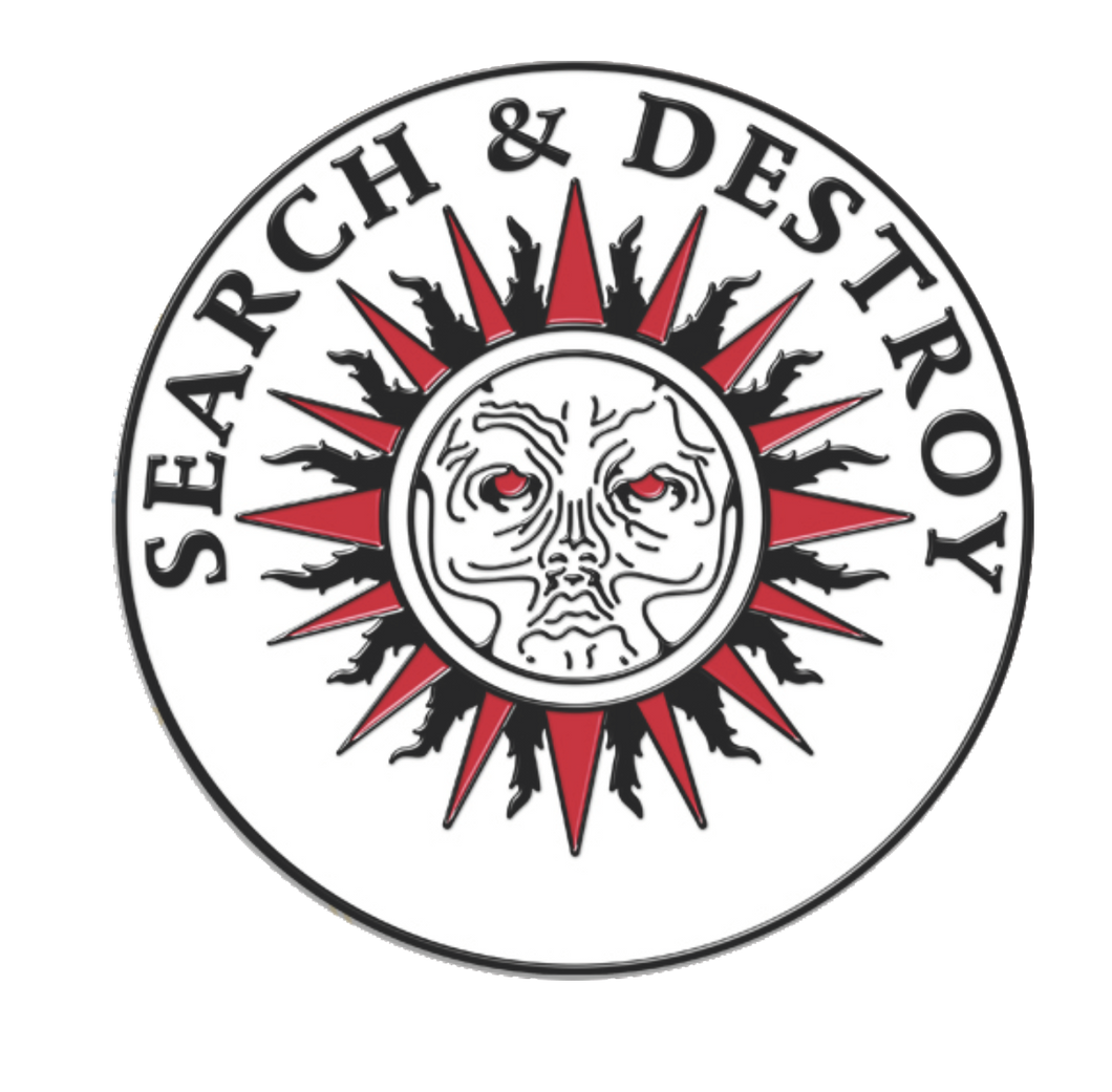 Search and Destroy Pin