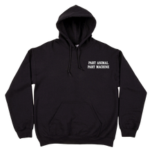 Load image into Gallery viewer, Search & Destroy Black Pullover Hoodie