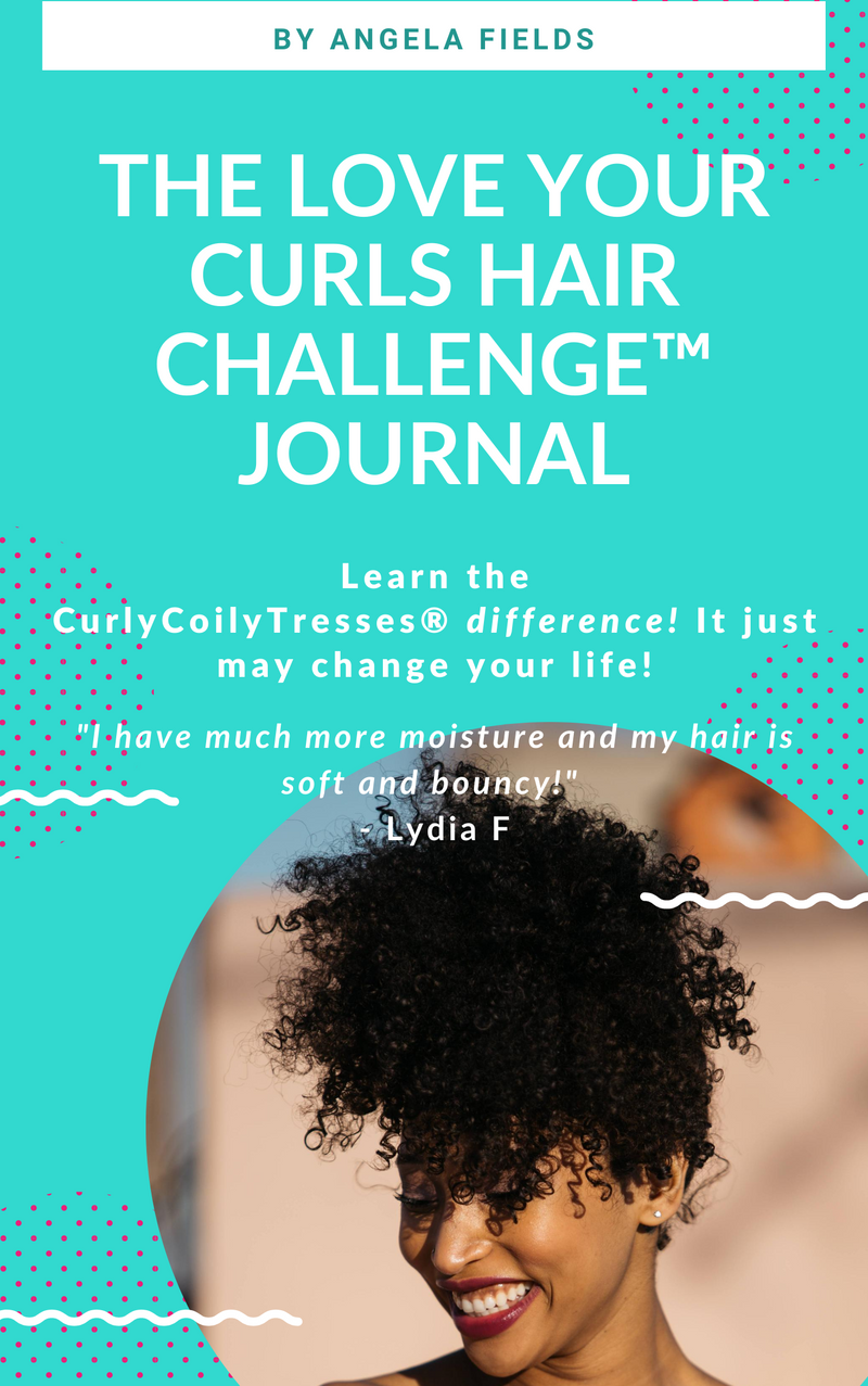 CurlyCoilyTresses love your curls hair challenge
