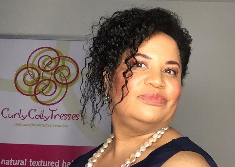 Angela Fields, Creator & CEO CurlyCoilyTresses