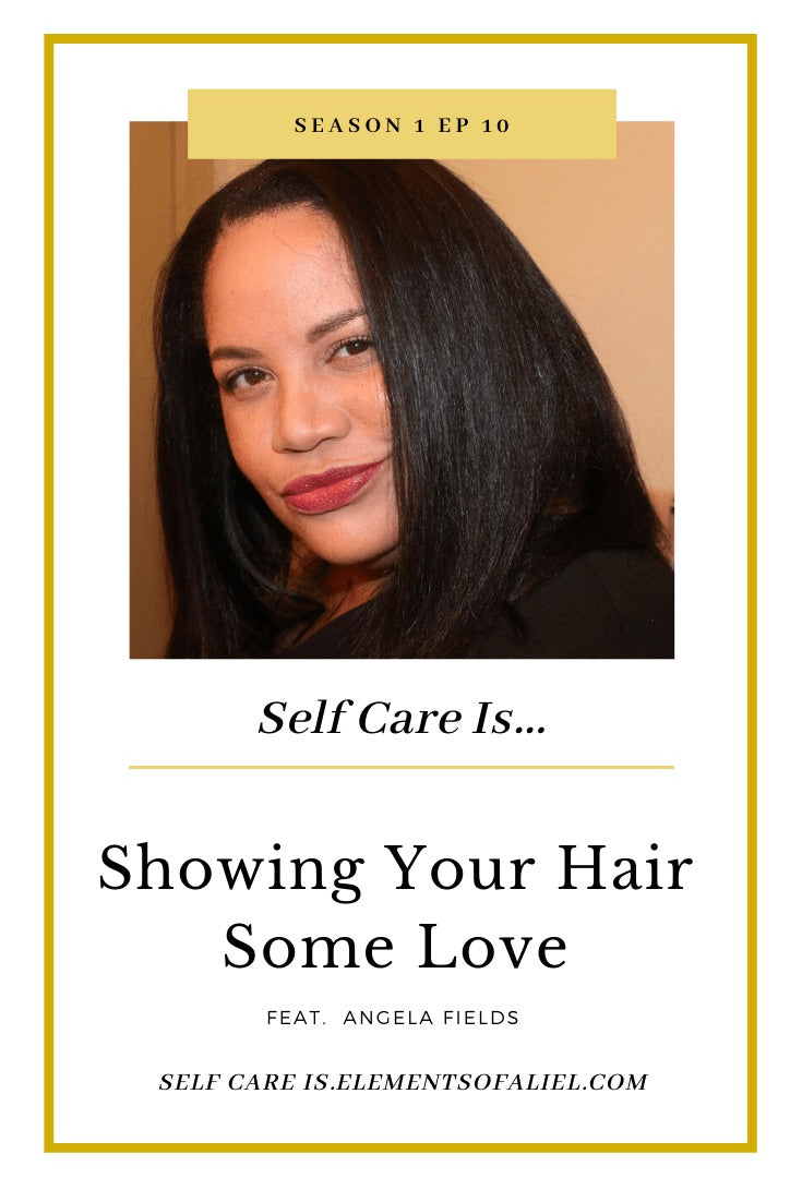 Angela Fields, CEO & Creator CurlyCoilyTresses, on Gather and Glow podcast
