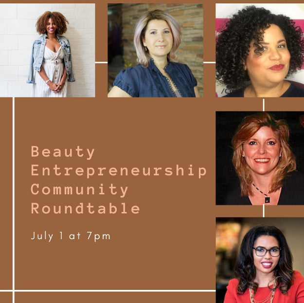 Beauty Entrepreneurship community roundtable