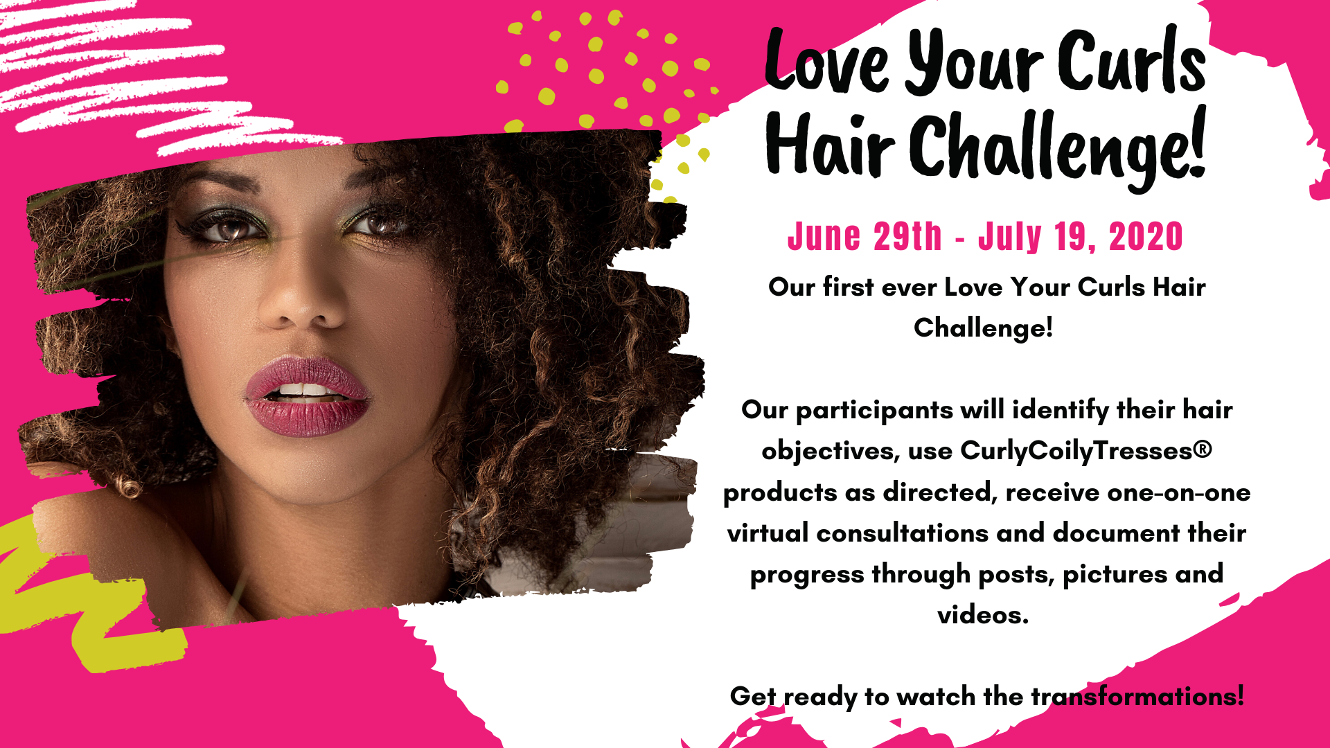 Love your curls challenge