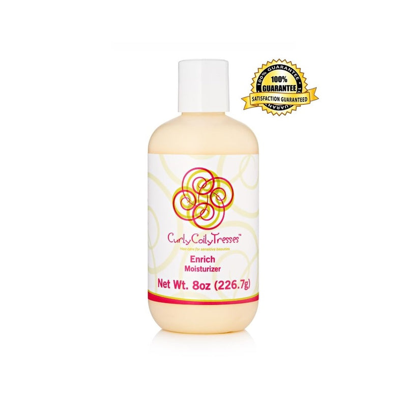 CurlyCoilyTresses Enrich fragrance free