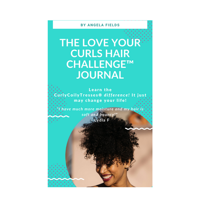 CurlyCoilyTresses love your curls hair challenge journal