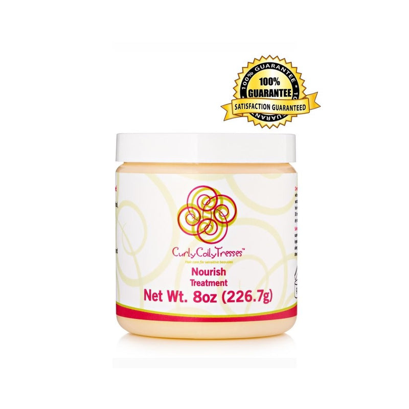 CurlyCoilyTresses Nourish fragrance free