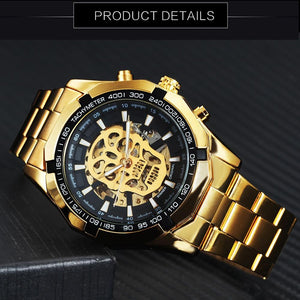 WINNER LUXURY SKELETON WATCH