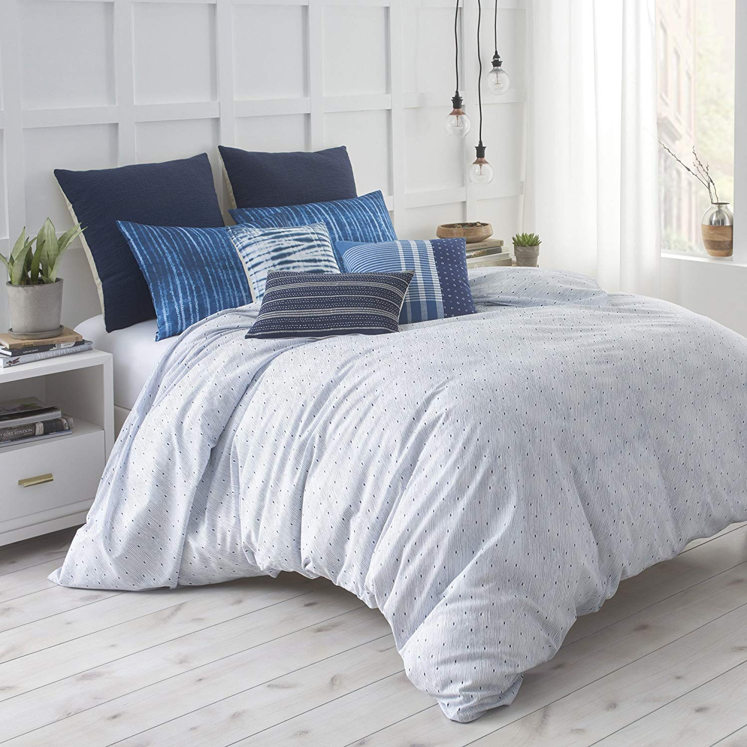 Organic Cotton Shibori Chic Duvet Cover Set Full/Queen - My Simple Changes