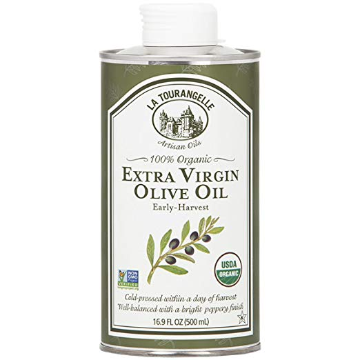 Organic Extra Virgin Olive Oil (16.9 oz) - My Simple Changes