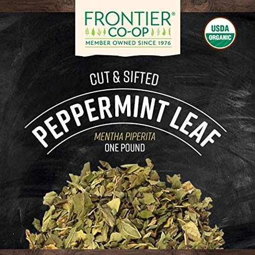 Organic Peppermint Loose Whole Leaf Tea (1lb) - My Simple Changes