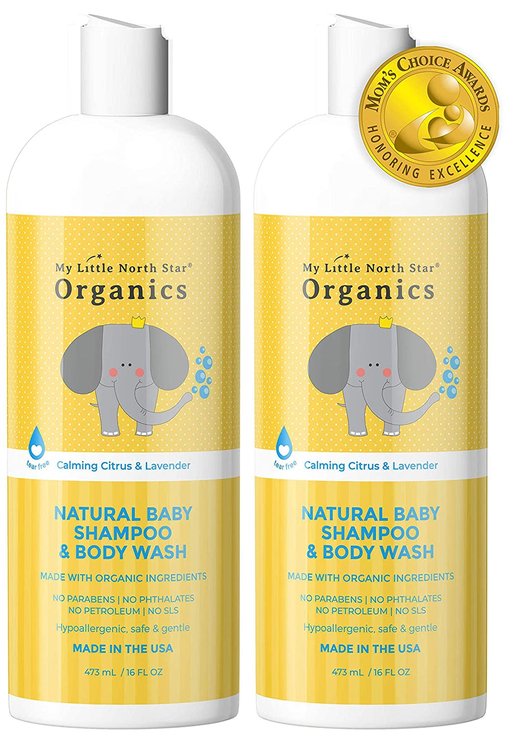 My Little North Star Organics Shampoo - My Simple Changes
