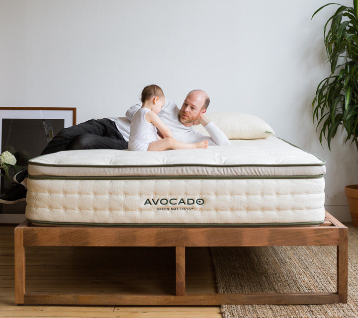 Non-Toxic Organic Mattress (Queen) - My Simple Changes