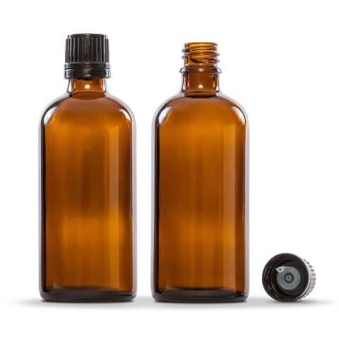 Amber Glass Essential Oil Bottles (2) 30 ml - My Simple Changes