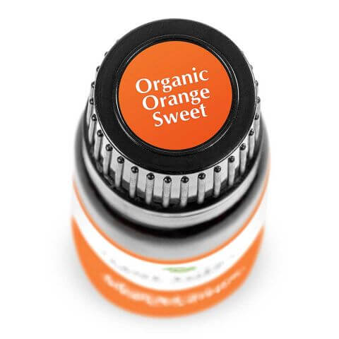 Orange Sweet Organic Essential Oil (10 ml) - My Simple Changes