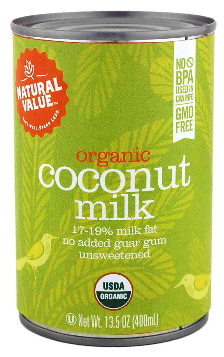 Organic Coconut Milk, No Guar Gum (12 cans) - My Simple Changes
