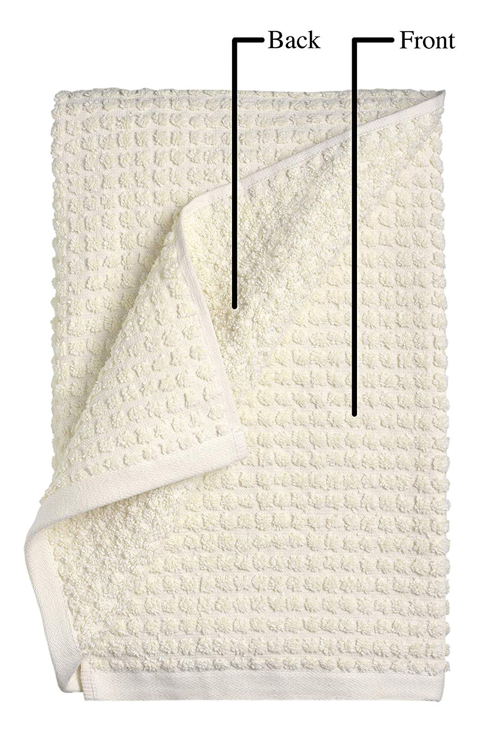 100% Organic Cotton Wash Cloths Set (12 piece) - My Simple Changes