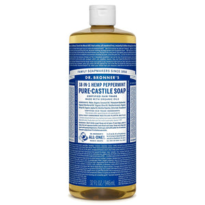 Organic Natural Pure-Castile Liquid Soap, 2 pack (32oz) - My Simple Changes