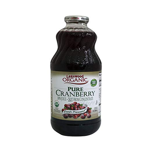 Organic 100% Pure Cranberry Juice - My Simple Changes