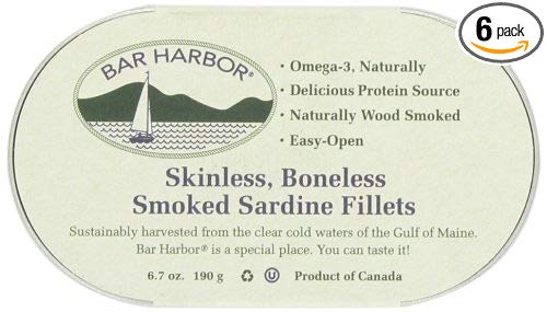 Skinless Boneless Smoked Sardine Fillets (6 pack) - My Simple Changes