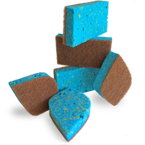 Non-Toxic Cleaning Sponges - My Simple Changes