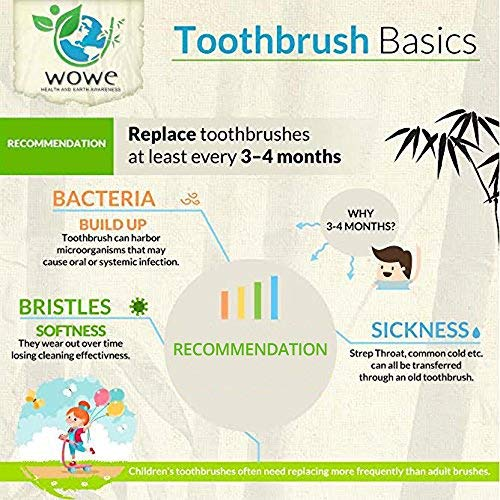 Organic Bamboo Toothbrushes (4) - My Simple Changes