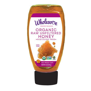 Organic Raw Unfiltered Honey 16 oz - My Simple Changes