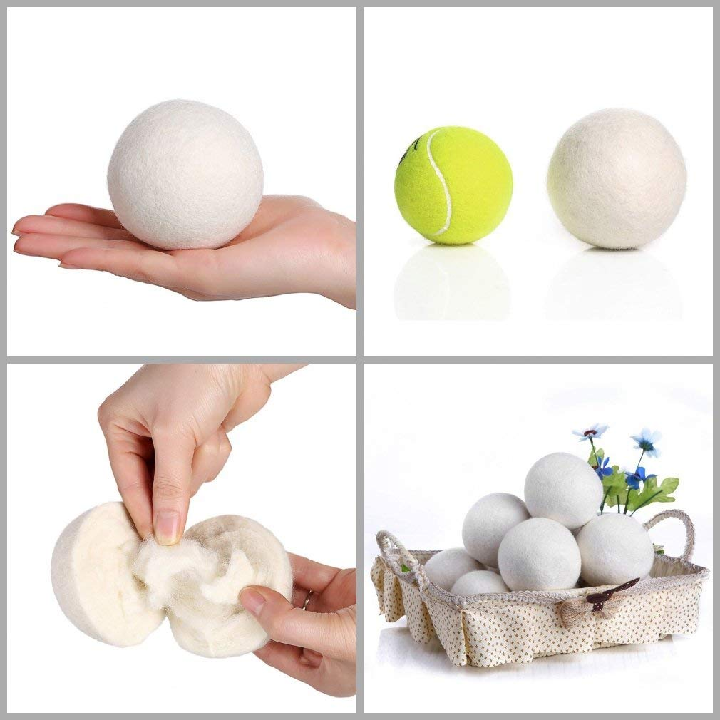 Wool Dryer Balls (6 pack) - My Simple Changes