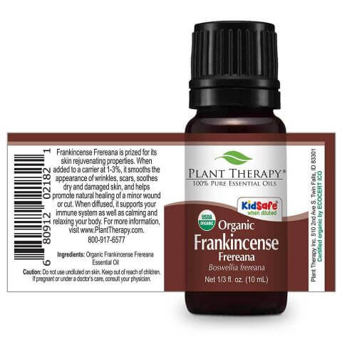 Frankincense Frereana Organic Essential Oil (10ml) - My Simple Changes
