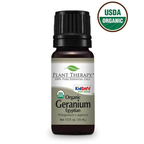 Geranium Egyptian Organic Essential Oil (5ml) - My Simple Changes