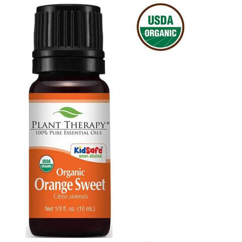 Orange Sweet Organic Essential Oil (30 ml) - My Simple Changes