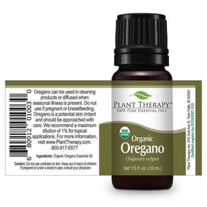 Oregano Organic Essential Oil (10 ml) - My Simple Changes